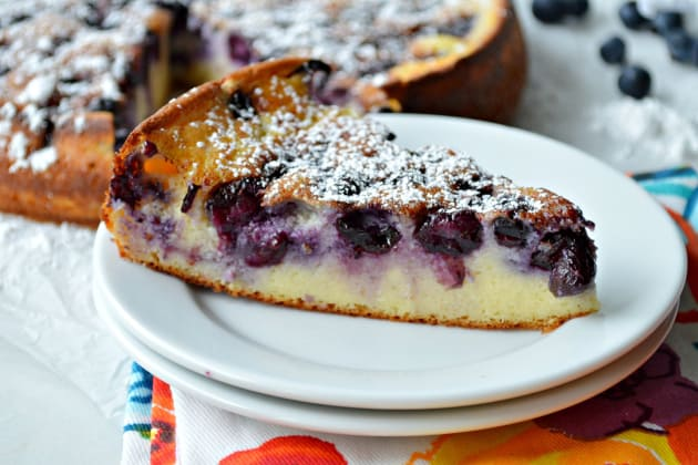 Blueberry Breakfast Cake Image