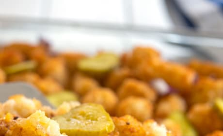 The Duggars Tater Tot Casserole Recipe Photo