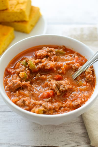 Paleo Stuffed Pepper Soup Image