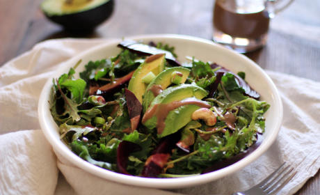 Roasted Beet & Avocado Salad