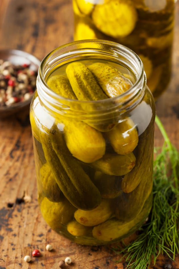 Brined Pickles Picture
