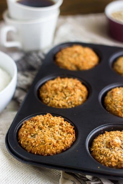 Coconut Almond Muffins Picture