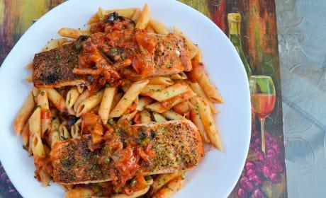 Salmon Puttanesca Recipe