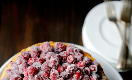Cranberry Eggnog Cheesecake Image