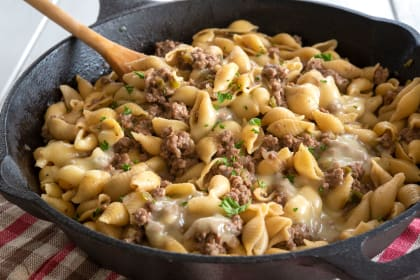 Philly Cheesesteak Pasta Recipe