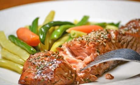 Roasted Teriyaki Salmon Recipe
