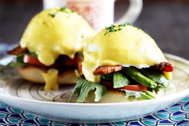 BLAT Eggs Benedict Photo