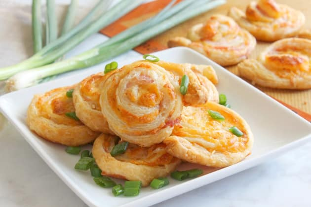 Bacon Cheddar Pinwheels Photo