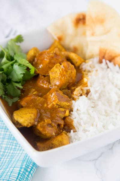 Easy Coconut Chicken Curry Picture
