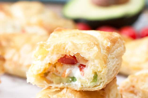 Avocado Cream Cheese Turnovers Photo