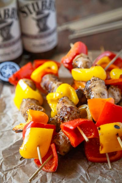Sweet Black Pepper Bratwursts Picture