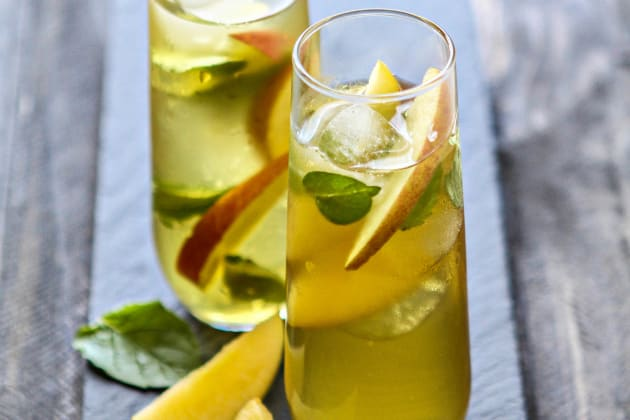 Green Tea Cocktail Photo