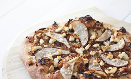 Goat Cheese Pizza Recipe