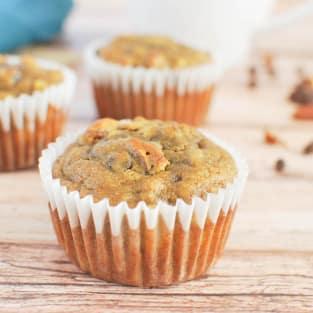 Paleo banana muffins photo