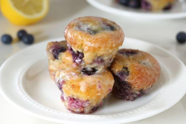 Gluten Free Lemon Blueberry Muffins Photo