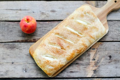 Peaches & Cream Bread