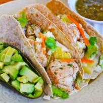 Jerk Fish Tacos with Pineapple Slaw Recipe