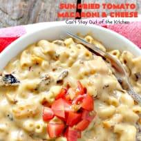Sun-Dried Tomato Macaroni and Cheese