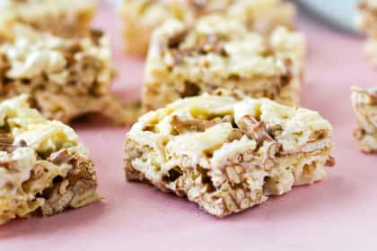 Junk Food Marshmallow Squares