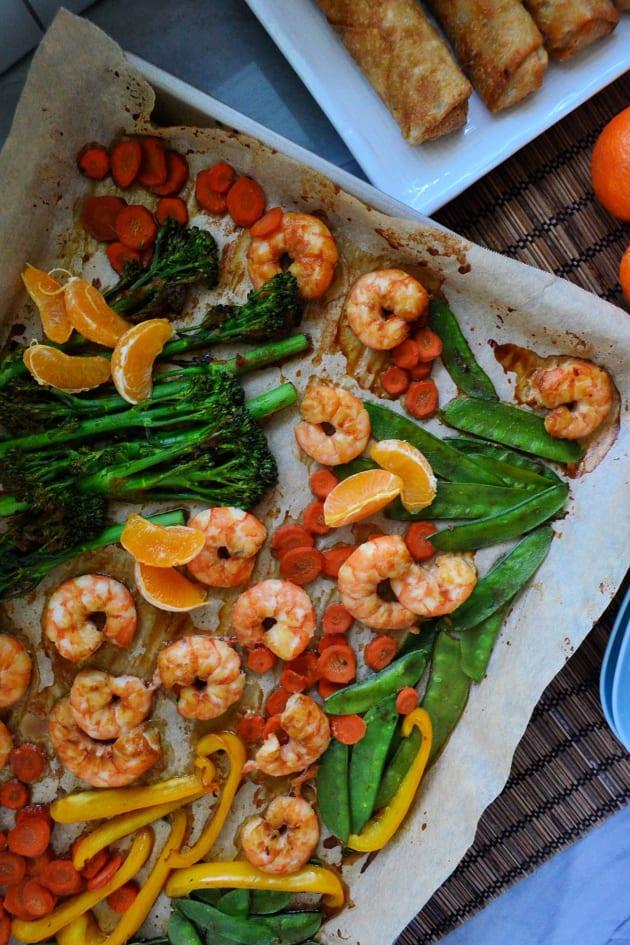 Sheet Pan Shrimp Stir-Fry Picture