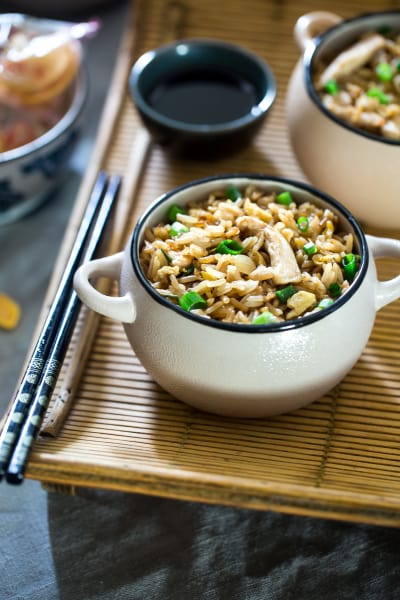 Easy Chicken Fried Rice Pic