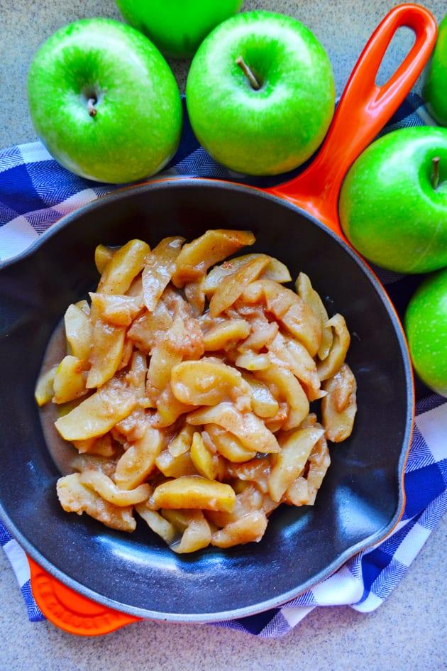 Skillet Cinnamon Apples Picture