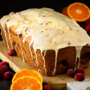 Quick orange cranberry bread photo