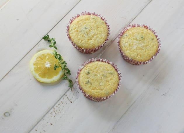 Lemon Thyme Muffins Photo