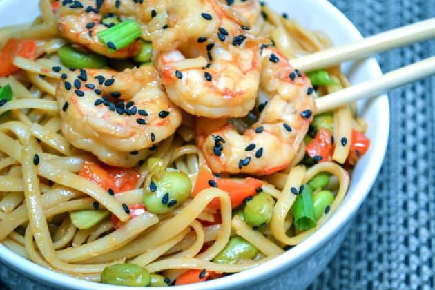 Sesame Shrimp Noodles Image