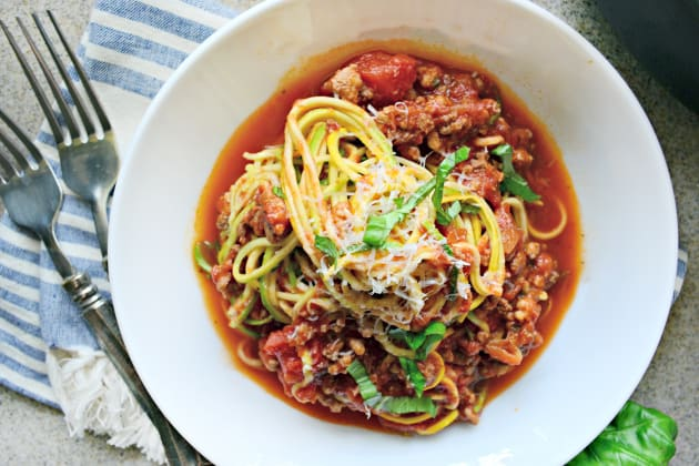 Zoodles Bolognese Photo