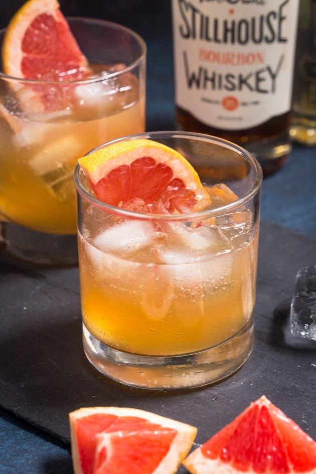 Grapefruit Whiskey Sour Image