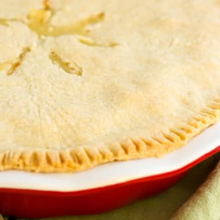 Gluten free chicken pot pie photo