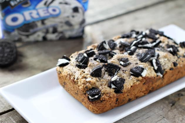 Cookies & Cream Ice Cream Bread Photo