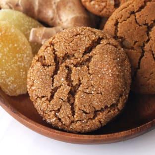 Triple ginger cookies photo