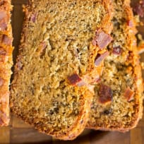 Bacon Peanut Butter Banana Bread Recipe