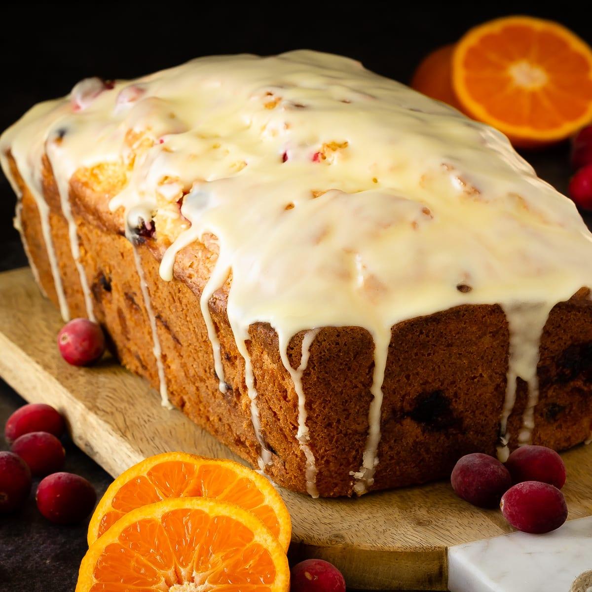 Quick Orange Cranberry Bread Recipe