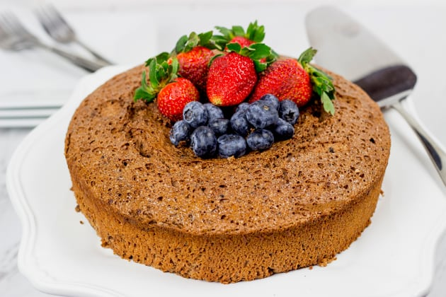 Chocolate Angel Food Cake Image