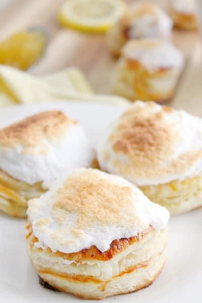Lemon Meringue Donuts Image