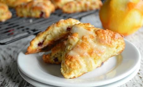 Cranberry Orange Scones Recipe