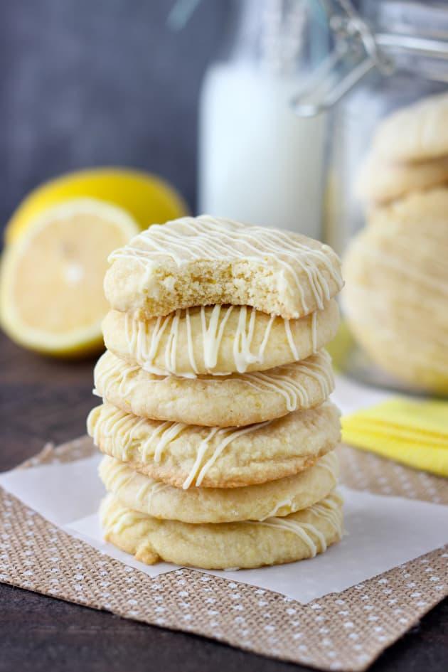 Lemon Cake Mix Cookies Pic