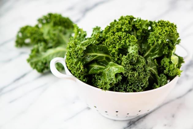 Freezing Kale Photo