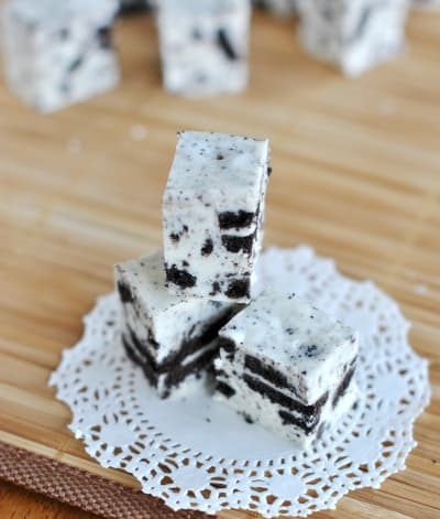 Cookies and Cream Fudge Photo