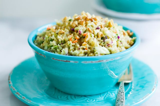 Quinoa Cabbage Salad