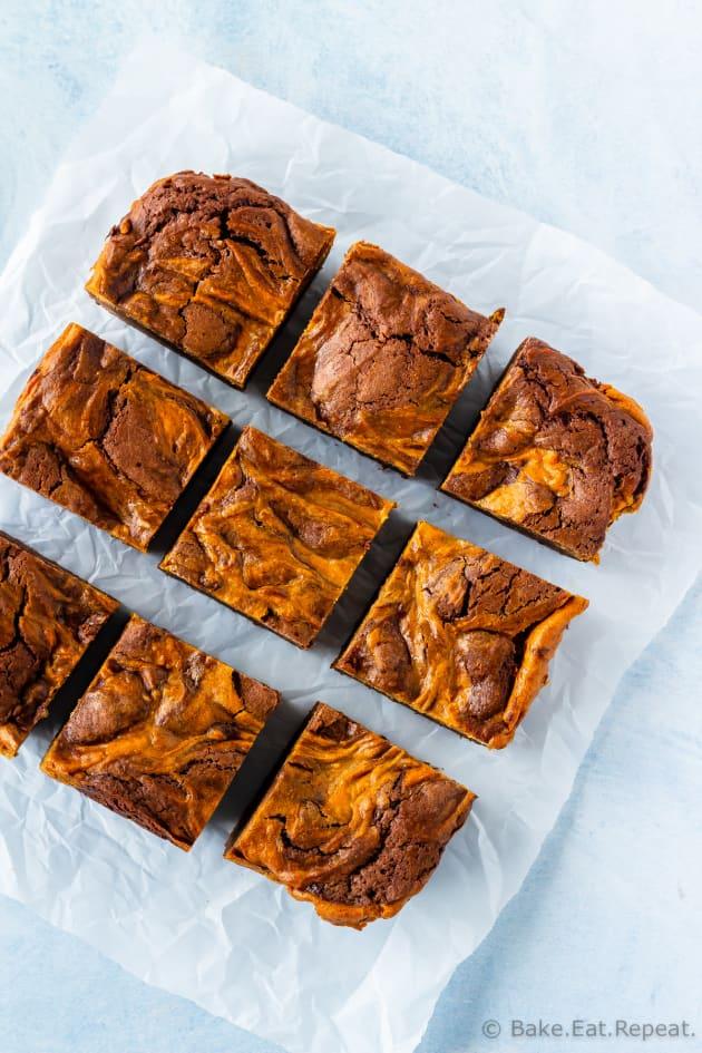 Pumpkin Cheesecake Brownies Picture