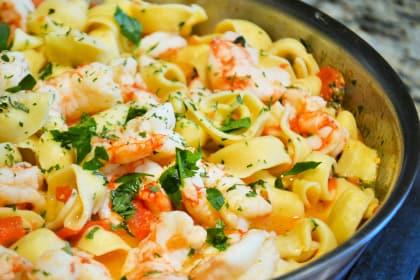 Shrimp Scampi Tortellini