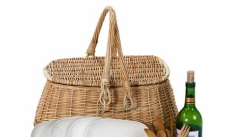 Bambeco Eco Picnic Basket for Four