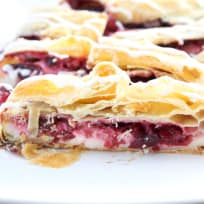 Cherry Cream Cheese Danish Braid Recipe