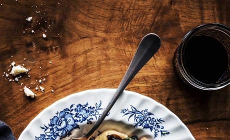 Mushroom Swiss Chard Pasta Picture