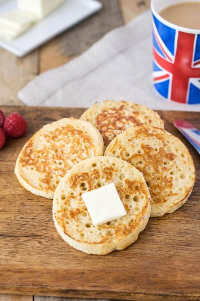 English Crumpets Picture