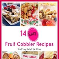 14 Fruit Cobbler Recipes